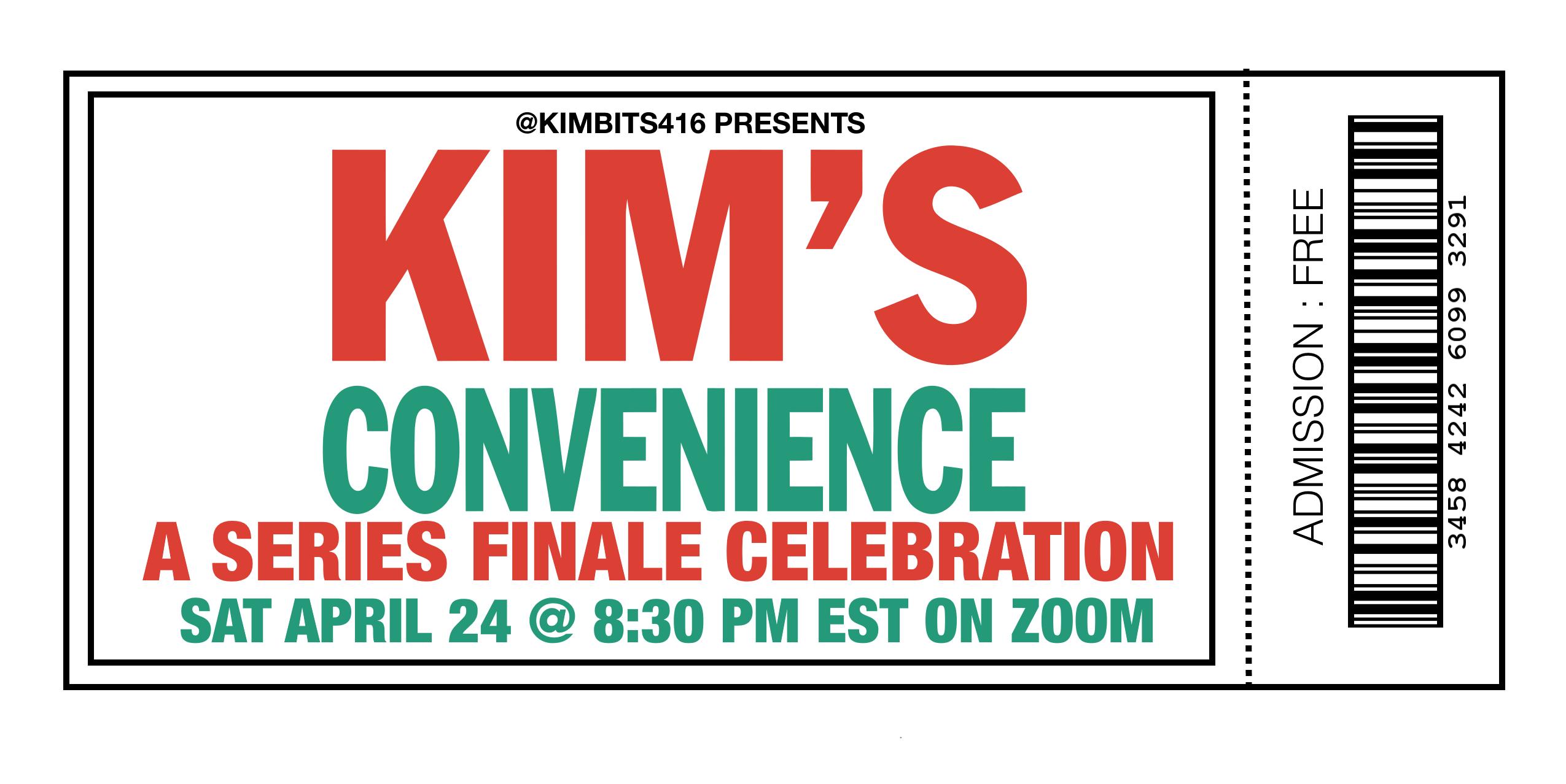 Kimbits Wrap Party ticket